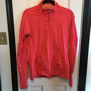 Tuff Athletics Fitted Runners Zip Jacket